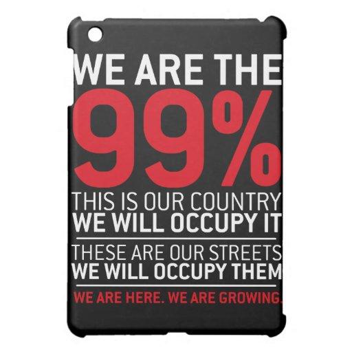 Somos los 99% - el 99 por ciento ocupa Wall Street