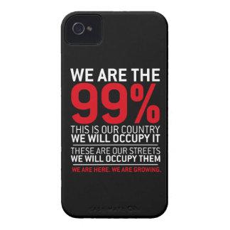 Somos los 99% - el 99 por ciento ocupa Wall Street iPhone 4 Case-Mate Protector