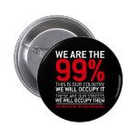 Somos los 99% - el 99 por ciento ocupa Wall Street Pin