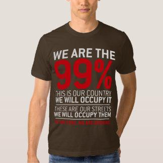 Somos los 99% - el 99 por ciento ocupa Wall Street Remera
