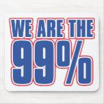 somos los 99% en los Estados Unidos Alfombrilla De Raton