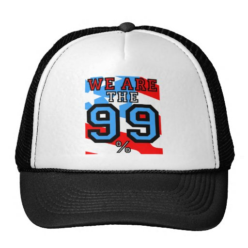 somos los 99% gorro de camionero