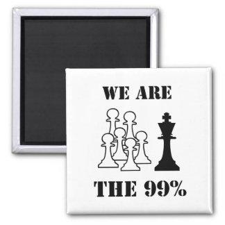 Somos los 99% imán para frigorífico