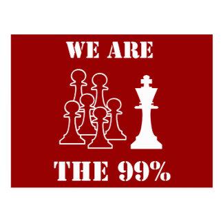 Somos los 99% postales