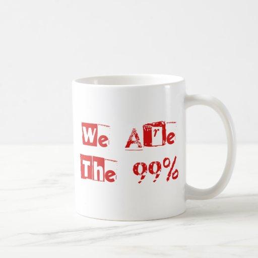 Somos los 99% taza
