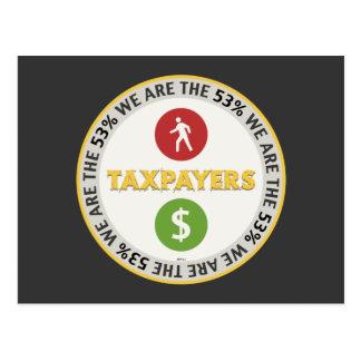 Somos los contribuyentes del 53% tarjeta postal