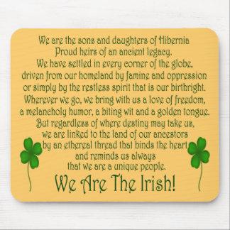 ¡Somos los irlandeses! Cojín de ratón Tapete De Ratones