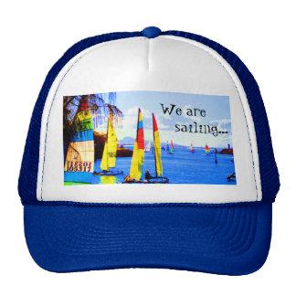 Somos, navegando… gorras de camionero