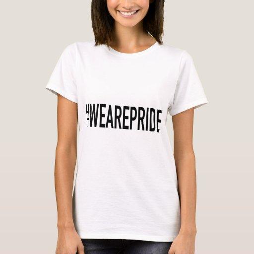 Somos orgullo Hashtag Playera
