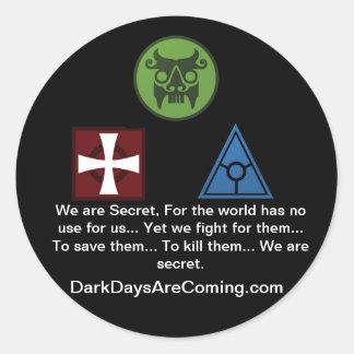 Somos pegatina secreto
