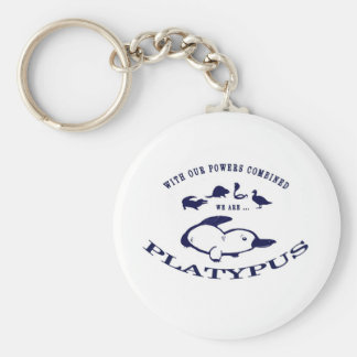 Somos Platypus Llavero