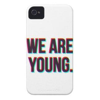 Somos producto joven del personalizable del texto funda para iPhone 4 de Case-Mate