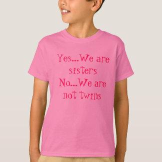 Somos sí camisetas de las hermanas polera