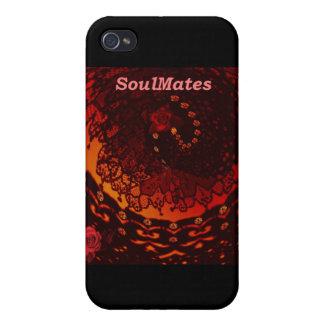 """Somos SoulMates "" * iPhone 4/4S Carcasa"