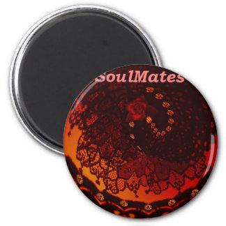 Somos SoulMates Iman Para Frigorífico
