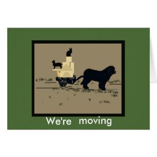 Somos tarjeta de felicitación de Moving~