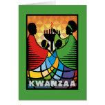 Somos tarjetas de una de Kwanzaa felicitación del