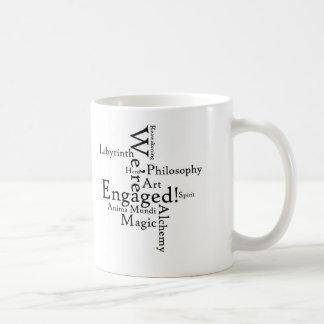 """Somos"" taza de café dedicada"