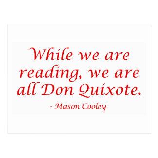Somos todo el Don Quijote Postal