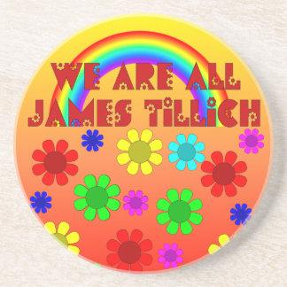 Somos todo el James Tillich Posavasos Diseño