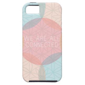 Somos todos caso conectado iPhone 5 funda
