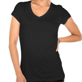 """""""Somos todos"""" cuello en v hermoso del tamaño extra Camisetas"""