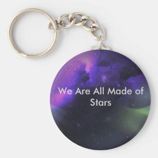 Somos todos hicimos de estrellas llavero redondo tipo pin