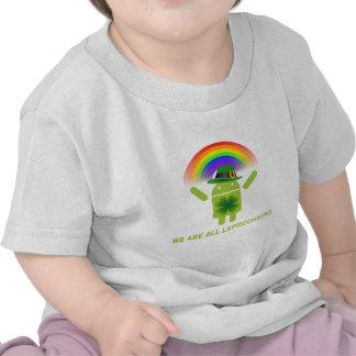 Somos todos los Leprechauns (el arco iris de Camisetas