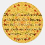 Somos todos los vagabundos en esta tierra….CITA GI Etiquetas