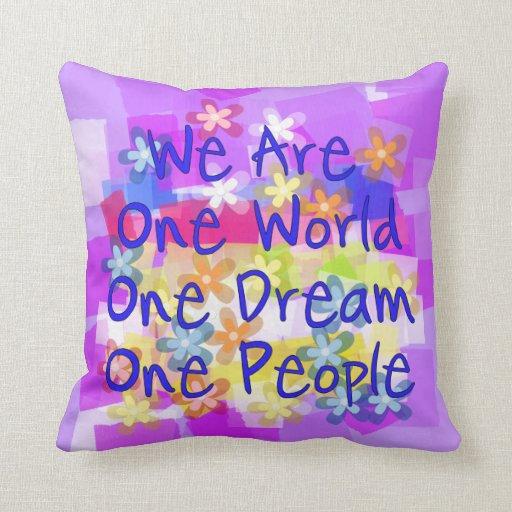 Somos una personas almohadas
