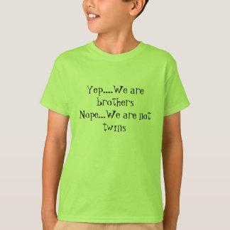 Somos Yep camisetas de los hermanos