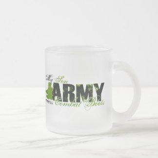 Son 10 Oz Frosted Glass Coffee Mug