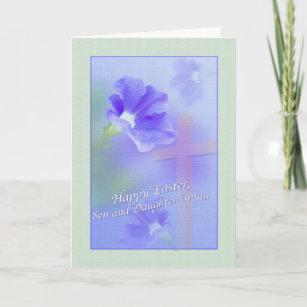 Daughter and son in law easter gifts on zazzle son and daughter in laws easter card negle Images