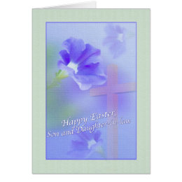 Daughter and son in law easter gifts on zazzle son and daughter in laws easter card negle Choice Image