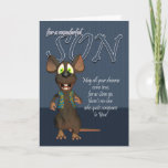 """Son Birthday Card - With Funky Mouse<br><div class=""""desc"""">Son Birthday Card - With Funky Mouse</div>"""