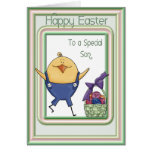 Son Chick Easter Card