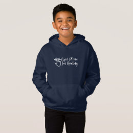 Son Christmas Gift - Quite Please I am Reading Hoodie