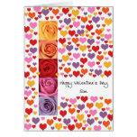 Son Colored Valentine's Day Greeting Card