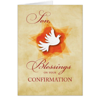 Son, Confirmation Congratulations Blessings Card