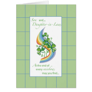Son & Daughter-in-Law Religious St. Patrick's Day Card