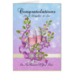 Son & Daughter-in-Law wedding vow renewal card