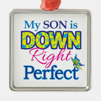 Son_Down_Rt_Perfect Metal Ornament