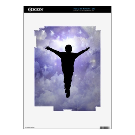 Son embrace the light iPad 2 decal