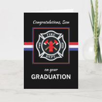 Son, Fire Department Academy Graduation Black Card