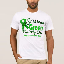 Son - Green  Awareness Ribbon T-Shirt