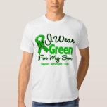 Son - Green  Awareness Ribbon Tee Shirts