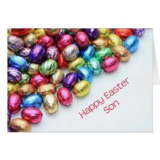 Son Happy Easter Card