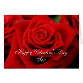 Son Happy Valentineu0026#39;s Day Roses Card