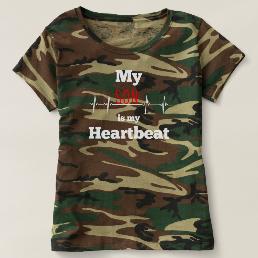 Son Heartbeat Gift From Son Heartbeat Greatest T-shirt - Best Selling Long-Sleeve Street Fashion Shirt Designs