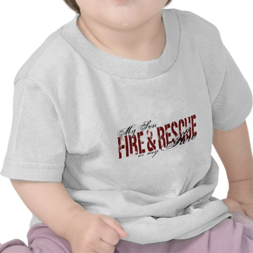 Son Hero - Fire & Rescue T Shirts